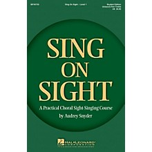 Hal Leonard Sing on Sight - A Practical Sight-Singing Course (Level 1 Treble Classroom Kit) Unison/2-Part Treble