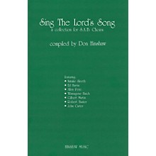 Hinshaw Music Sing the Lord's Song (A Collection for SAB Choirs) SAB