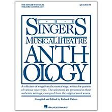 Hal Leonard Singer's Musical Theatre Anthology - Quartets Book