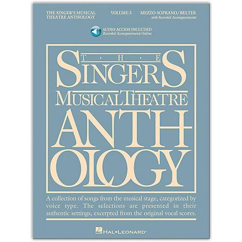 Hal Leonard Singer's Musical Theatre Anthology Mezzo-Soprano / Belter Volume 3 Book/Online Audio