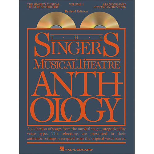 Hal Leonard Singer's Musical Theatre Anthology for Baritone / Bass Volume 1 2CD's