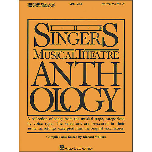 Hal Leonard Singer's Musical Theatre Anthology for Baritone / Bass Volume 2