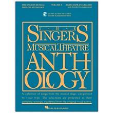 Hal Leonard Singer's Musical Theatre Anthology for Mezzo-Soprano / Belter Vol 5 Book/Online Audio