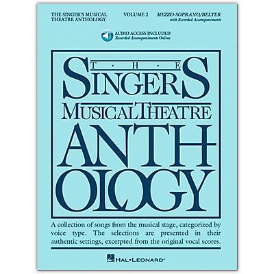 Hal Leonard Singer's Musical Theatre Anthology for Mezzo-Soprano / Belter Volume 2 Book/Online Audio
