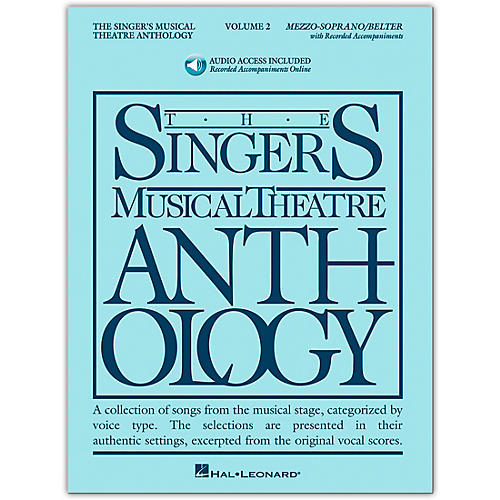 Hal Leonard Singer's Musical Theatre Anthology for Mezzo-Soprano / Belter Volume 2 Book/Online Audio