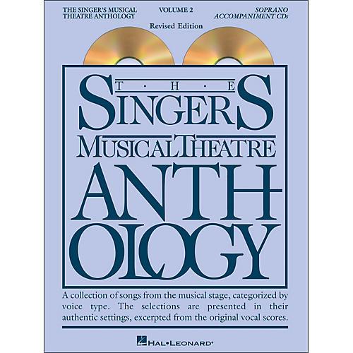 Hal Leonard Singer's Musical Theatre Anthology for Soprano Volume 2 2CD's Accompaniment