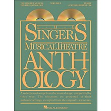 Hal Leonard Singer's Musical Theatre Anthology for Tenor Voice Vol 5 2 CD's Accompaniment