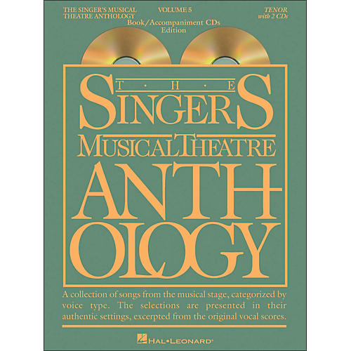 Hal Leonard Singer's Musical Theatre Anthology for Tenor Volume 5 Book/2CD's