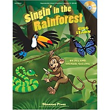 Hal Leonard Singin' In The Rainforest Book/Listening CD