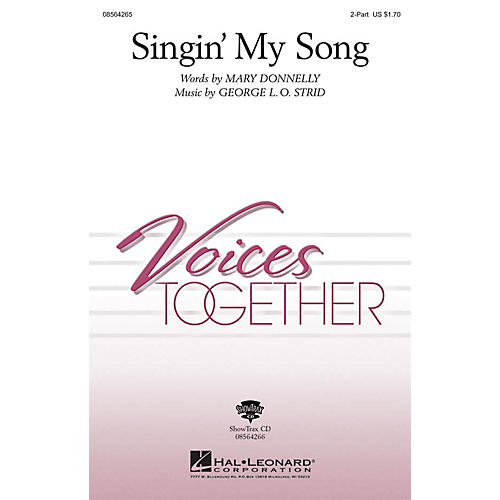 Hal Leonard Singin' My Song ShowTrax CD Composed by Mary Donnelly