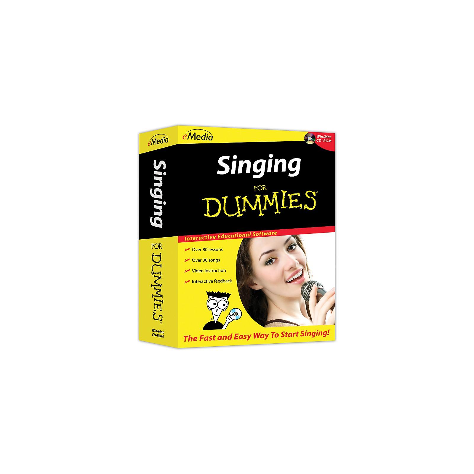 eMedia Singing For Dummies