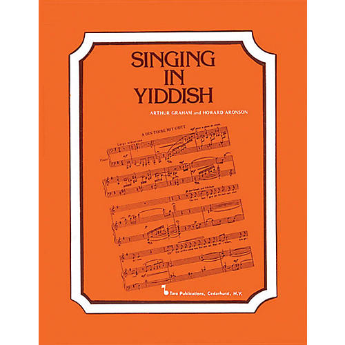 Hal Leonard Singing In Yiddish Tara Books Series