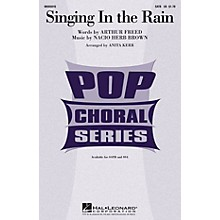 Hal Leonard Singing in the Rain SATB arranged by Anita Kerr