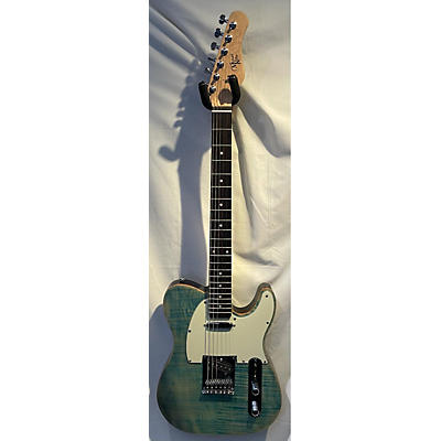 Michael Kelly Single Cut Flamed Maple Solid Body Electric Guitar