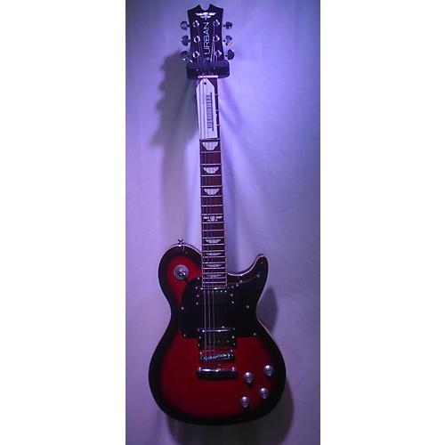 Keith Urban Single Cutaway Solid Body Electric Guitar Black Cherry Burst
