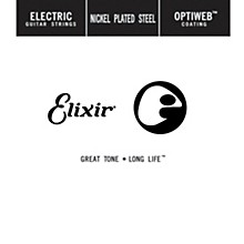 Elixir Single Electric Guitar String with OPTIWEB Coating (.032)