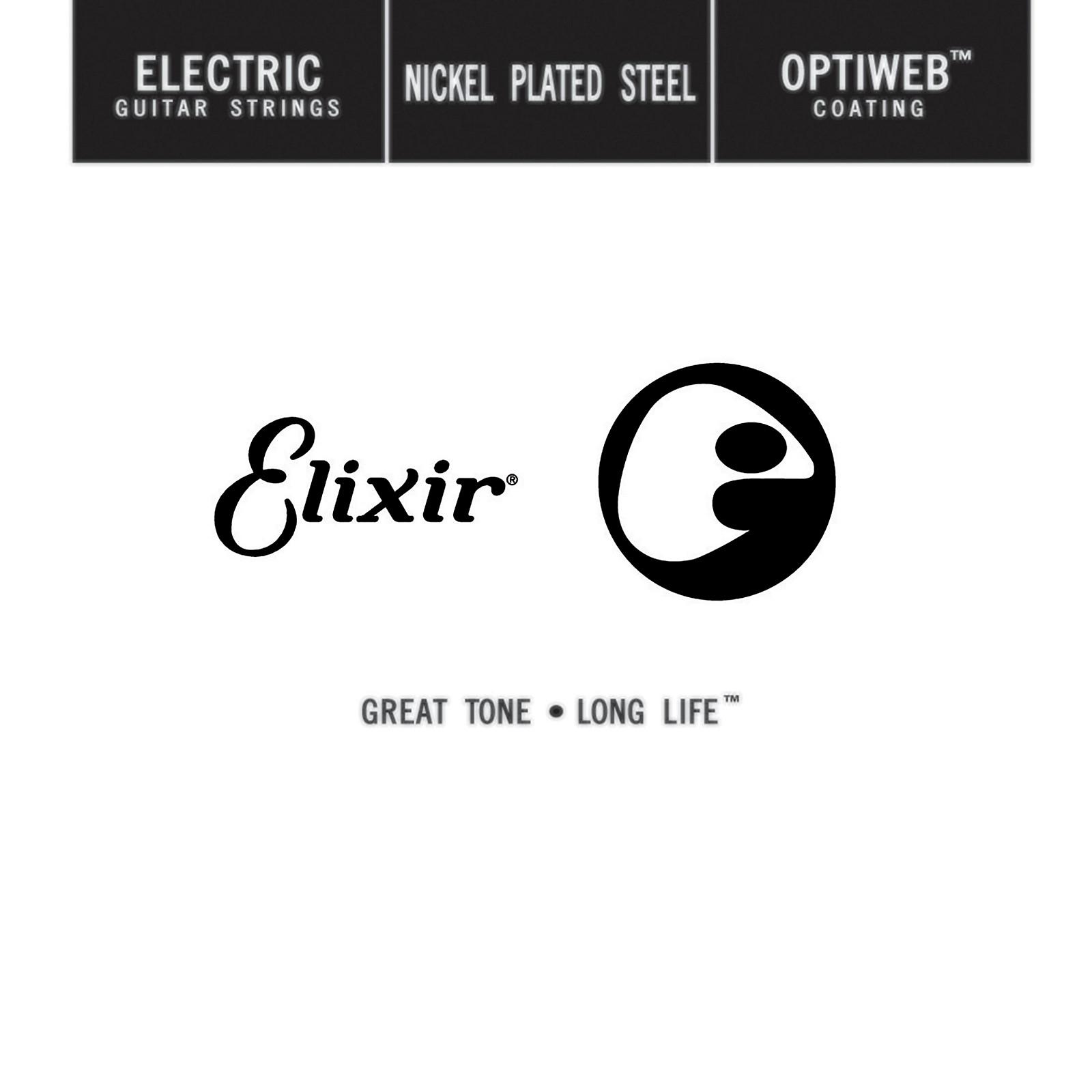 Elixir Single Electric Guitar String with OPTIWEB Coating (.038)