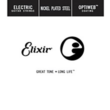 Elixir Single Electric Guitar String with OPTIWEB Coating (.038)