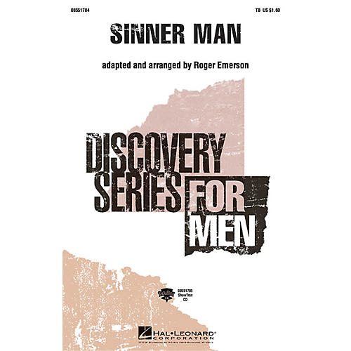 Hal Leonard Sinner Man TB arranged by Roger Emerson
