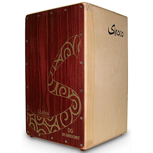 DG De Gregorio Siroco Folding Portable Cajon with Soft Travel Case