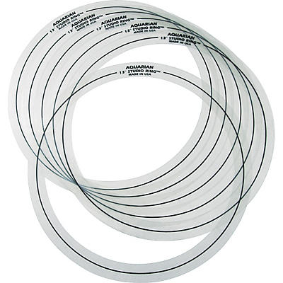 "Aquarian Six 13"" Studio Rings"