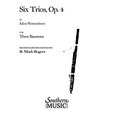 Southern Six Trios, Op 4 (Bassoon Trio) Southern Music Series Arranged by R. Mark Rogers