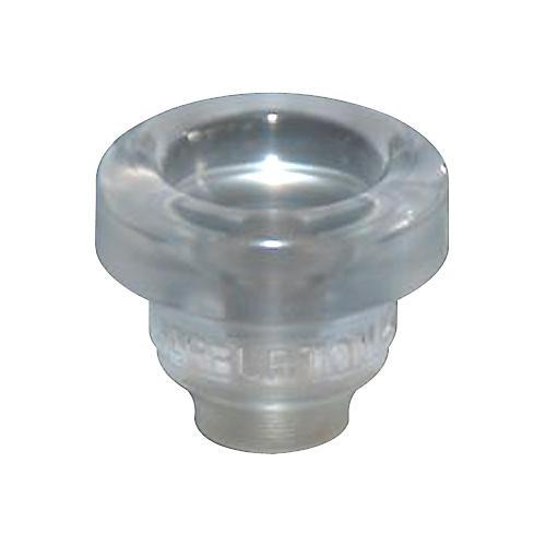 Warburton Size 9 Lexan Series Trumpet and Cornet Mouthpiece Top