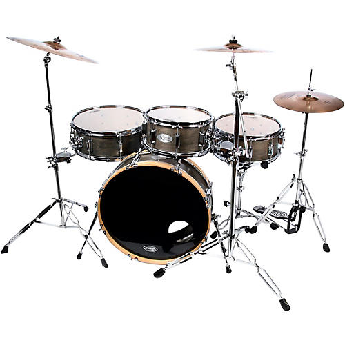 sidekick drums skinny drum set 4 piece shell pack ebony musician 39 s friend. Black Bedroom Furniture Sets. Home Design Ideas