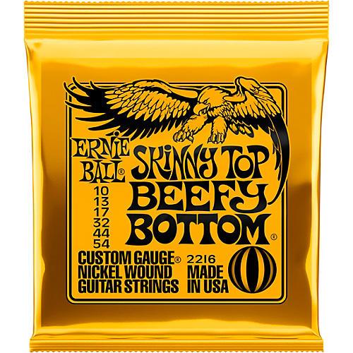 Ernie Ball Skinny Top/Beefy Bottom 2216 (10-54) Nickel Wound Electric Guitar Strings
