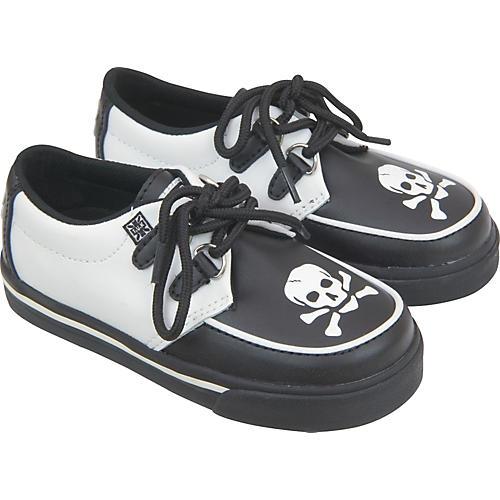 T.U.K. Skull Toe Baby Creeper Sneaker
