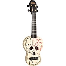 Mahalo Skull Ukulele Soprano
