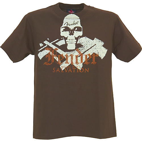 Fender Skull and Bones T-Shirt