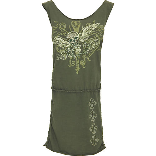 Dragonfly Clothing Skull with Wings Dress