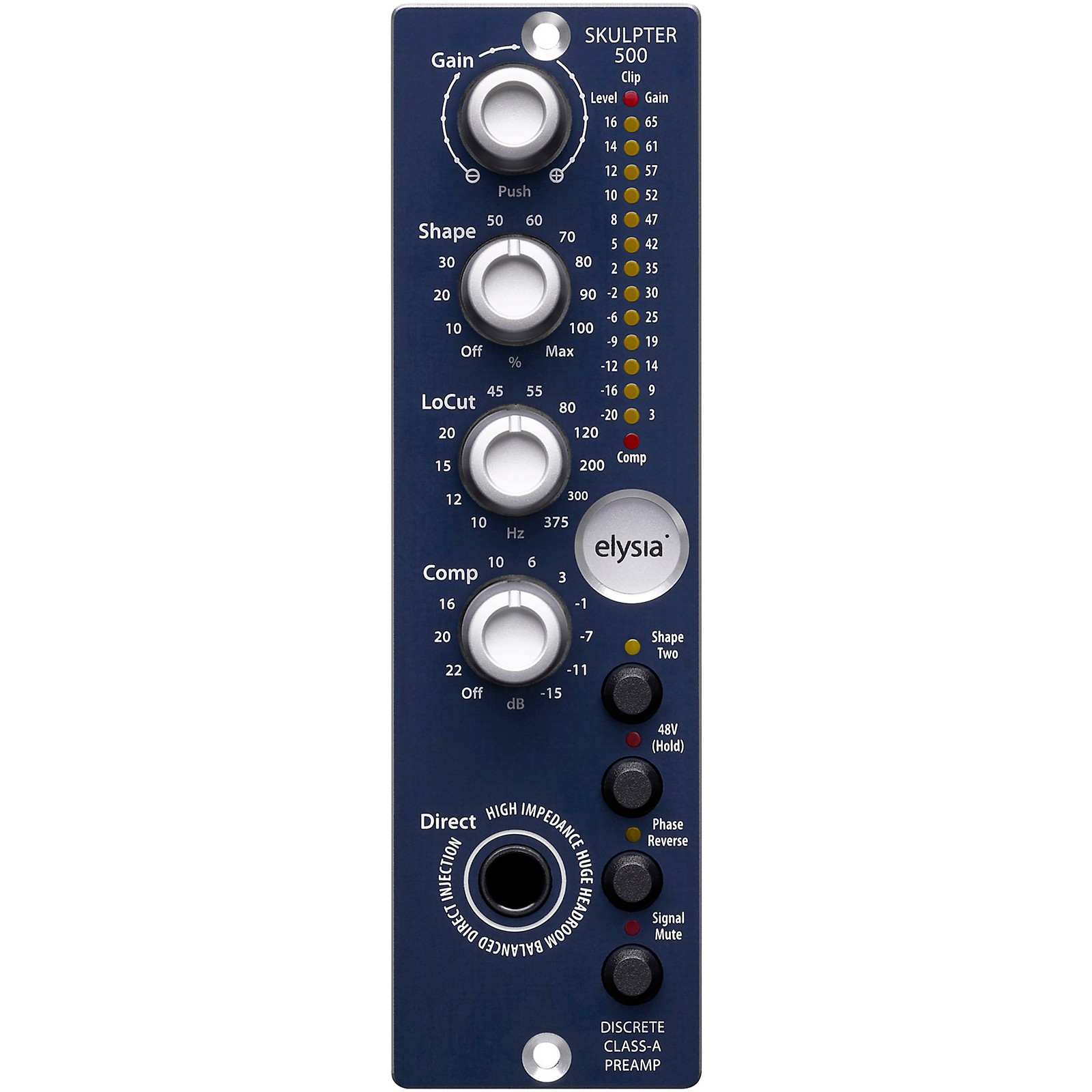 Elysia Skulpter 500 Microphone Preamp