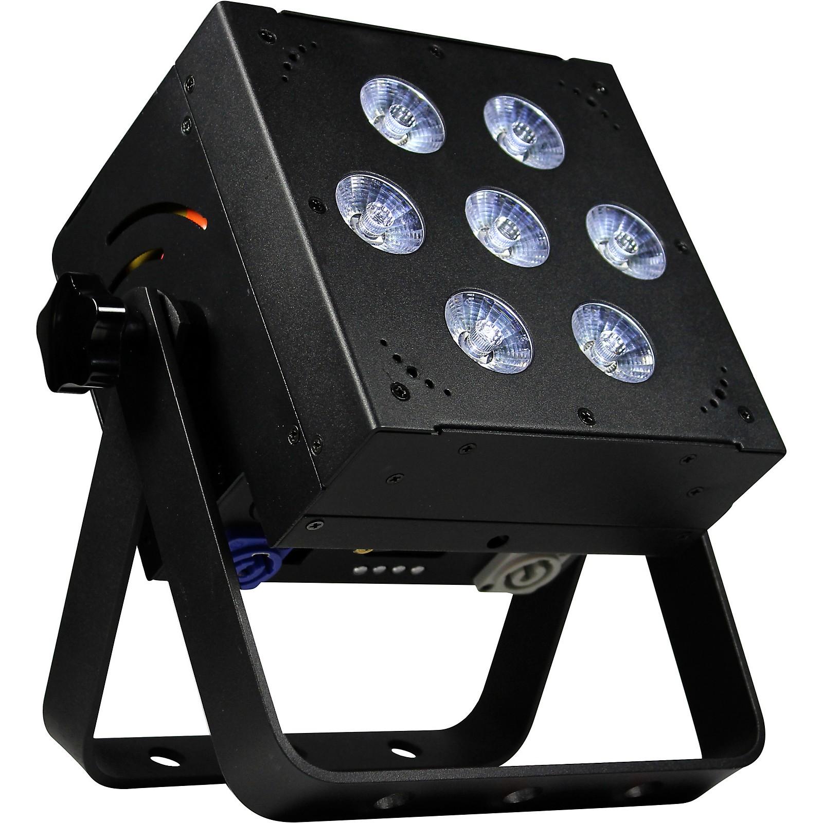 Blizzard SkyBox W-DMX RGBAW+UV LED Rechargeable Battery Powered 2.4MHz Wireless DMX Wash Light