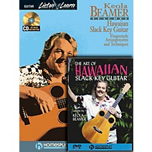 Homespun Slack Key Hawaiian Guitar Pack Homespun Tapes Series Softcover with DVD Written by Keola Beamer