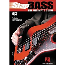 Hal Leonard Slap Bass The Ultimate Guide (DVD)