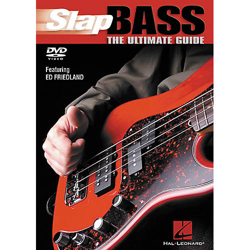 Hal Leonard Slap Bass The Ultimate Guide (DVD)