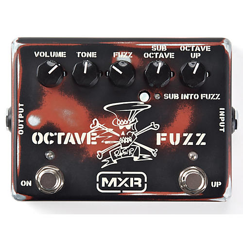 dunlop slash octave fuzz guitar effects pedal musician 39 s friend. Black Bedroom Furniture Sets. Home Design Ideas
