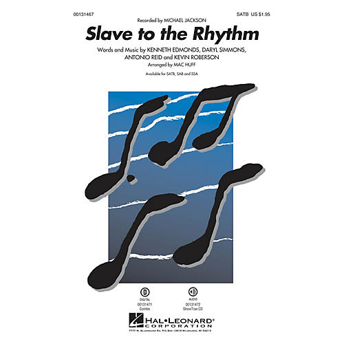 Hal Leonard Slave to the Rhythm ShowTrax CD by Michael Jackson Arranged by Mac Huff