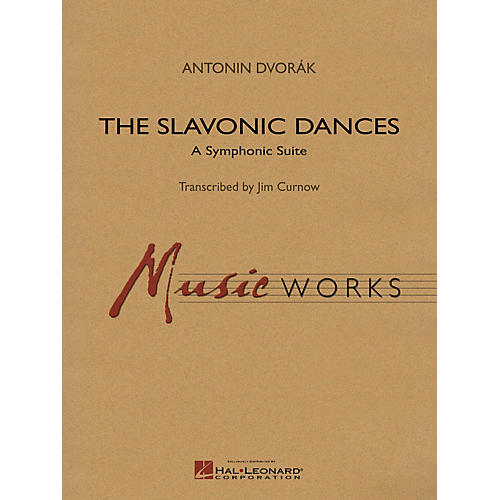 Hal Leonard Slavonic Dances Symphonic Suite Concert Band Level 5 Arranged by James Curnow