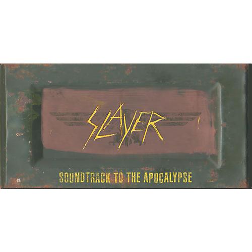Music CD Slayer - Soundtrack To The Apocalypse Limited Edition Box Set (CD/DVD)