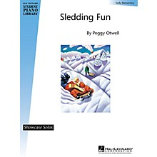 Hal Leonard Sledding Fun (Early Elem Showcase Solo) Piano Library Series by Peggy Otwell