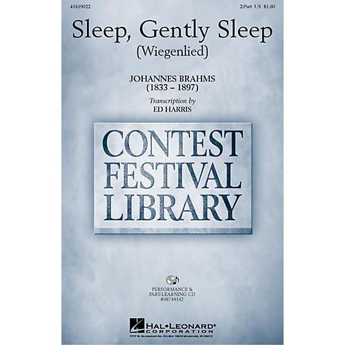 Hal Leonard Sleep, Gently Sleep (Wiegenlied) 2-Part arranged by Ed Harris