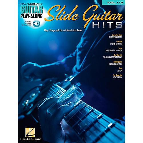 Hal Leonard Slide Guitar Hits - Guitar Play-Along Volume 110 Book/CD