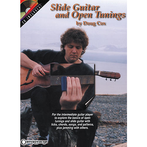 Centerstream Publishing Slide Guitar and Open Tunings Book/CD