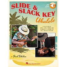 Hal Leonard Slide & Slack Key Ukulele Book/Audio Online