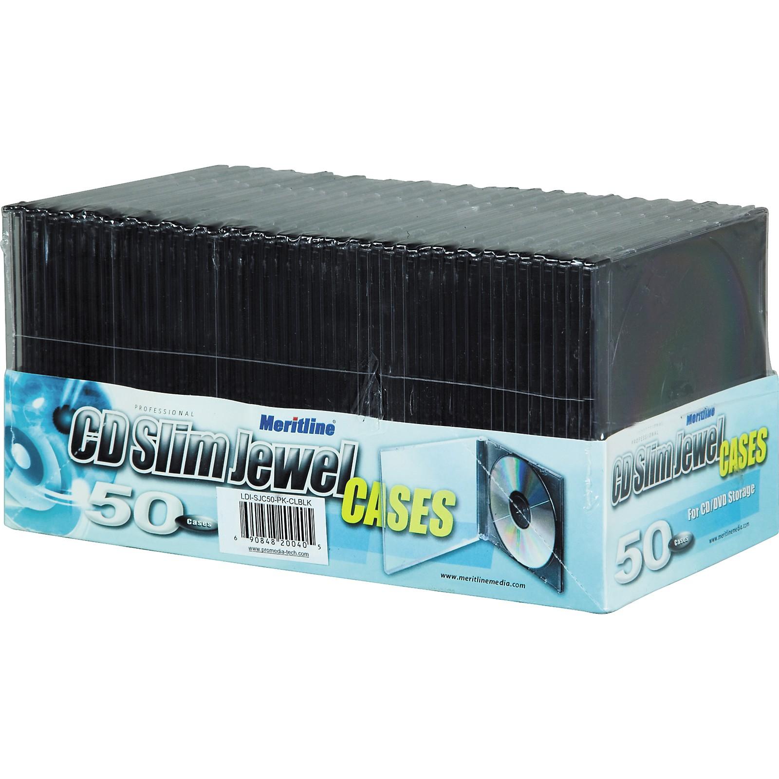BK Media Slim Jewel Case (50 Pack)