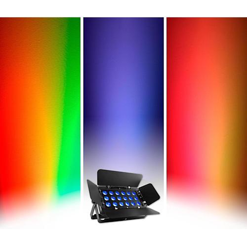 CHAUVET DJ SlimBANK T18 USB Tri-Color LED Wash/Effect Light with Adjustable Barn Doors