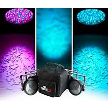 CHAUVET DJ SlimPACK 56 LT - 4 SlimPAR 56 Wash Lights and 3 DMX Cables with CHS-SP4 VIP Gear Bag